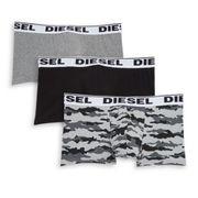 Lot de 3 boxers gris homme Diesel