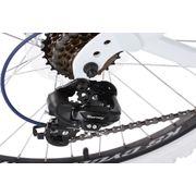VTT tout suspendu 26'' Topspin blanc-bleu TC 46 cm KS Cycling
