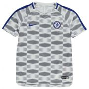 2017-2018 Chelsea Nike Pre-Match Training Maillot (blanc) - Kids