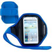 Brassard sport tissu pour XPERIA XA2 Bleue Ultra Léger