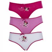 Lot De 3 Slips Coton Disney Minnie