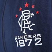 Rangers FC officiel - Pull zippé à capuche thème football - polaire - garçon