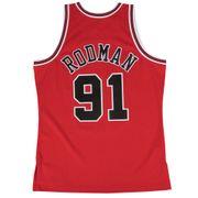 Maillot Chicago Bulls Dennis Rodman #91