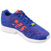 ZX FLUX WEAVE BLU - Chaussures Homme Adidas