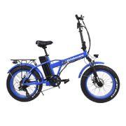 Vélo électrique Velobecane Snow bleu