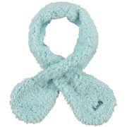 BARTS-Echarpe naissance en fourrure polaire bleu ciel bébé garçon du 3 au 12 mois Barts
