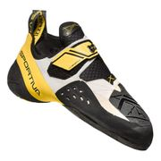 Chaussons d'escalade La Sportiva Solution blanc jaune