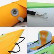 BETTA K0 1P - 1 person inflatable kayak w/ paddle 312x83cm