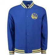 Bomber NBA Golden State Warriors New Era Varsity pop Logo Bleu pour Homme taille - M