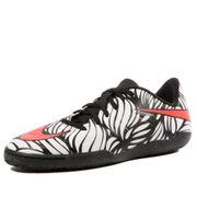 Hypervenomx Phelon II IC Garçon Chaussures Futsal Noir Blanc Nike