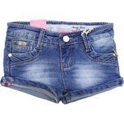 Short Jeans fille enfants taille de 4 à 14 ans