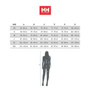 T-shirt Helly Hansen Merino Light manches longues gris foncé femme