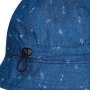 Bonnet Buff Bucket Hat Arrows Denim bleu foncé enfant