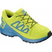 Salomon - Xa Elevate Cswp Enfants chaussure de course (jaune/bleu)