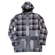 Veste Snow NEFF Rad Plaid Jacket Grey