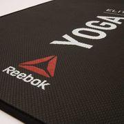 Tapis Reebok Elite Yoga Mat noir rouge blanc