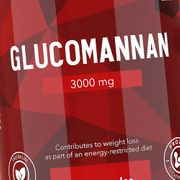 Glucomannane 3 000 mg 120 gélules - naturel
