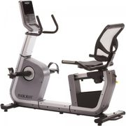 Gorilla Sports - MAXXUS® Vélo d'appartement semi-allongé Recumbent Bike 6.2R dans un style moderne