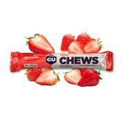 8 Gommes à mâcher Gu Energy fraise (x18)