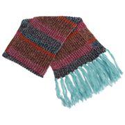 Echarpe rayée tricotée - Femme
