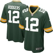 Maillot NFL Aaron Rodgers Greenbay Packers Nike Game Team Vert pour junior taille - XL (165-175cm)