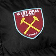West Ham United FC officiel - Gilet rembourré sans manches - thème football - garçon