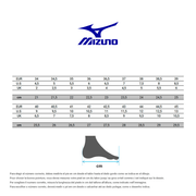 Chaussures femme Mizuno Wave ultima 11 colorful