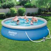 Bestway Ensemble de piscine Fast Set 396 x 84 cm 57321