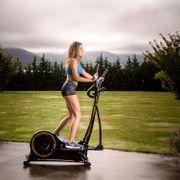 Vélo elliptique  EVO C2000 YC2000 12 Kg 3 cm. Programmes predefinis