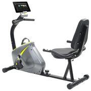vidaXL Vélo semi-allongé d'exercice 5 kg Masse rotative