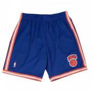 Short NBA New York Knicks 1991-92 Mitchell & Ness Swingman Road Bleu pour Homme taille - S