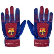 FC Barcelone officiel - Gants de gardien de but - football - pour enfant
