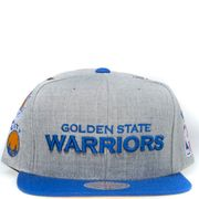 Golden State Warriors Homme Snapback Basketball Gris Mitchell & Ness