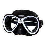 LUNETTES DE PLONGEE - MASQUE DE PLONGEE  Masque de plongée Elba - Médium - Noir et blanc