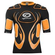 Optimum Inferno Rugby Body Protection Shoulder Pads Black/Orange - S