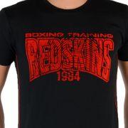 Tee Shirt Redskins Junior Boston Noir / Rouge