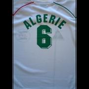 Ensemble short et maillot de foot Alg�rie blanc  Taille de 4 � 16 ans