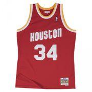 Maillot NBA swingman Hakeem Olajuwon Houston Rockets Hardwood Classics Mitchell & ness rouge taille - M