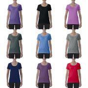 Gildan - T-shirt à col rond - Femme