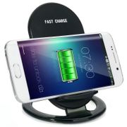 Chargeur QI sans fil-SpedCrd 2-Coils Qi Wireless Charger Pad Fast charge