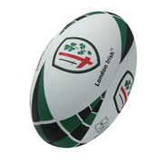 Ballon de rugby Supporter Gilbert London Irish (taille 4)
