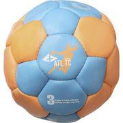 BALLON DE HANDBALL ATHLITECH Ballon de Handball - Taille 3 - Bleu et orange