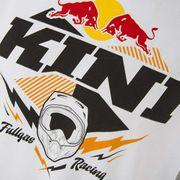 T-shirt Kini Red Bull Armor manche courte blanc noir