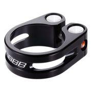 Collier de selle BBB Lightstrangler 28,6 noir BSP-85
