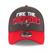Casquette NFL Tampa Bay Buccaneers New Era Spotlight 39THIRTY Gris taille casquette - M/L (56.8-60.6cm)