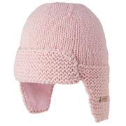 BARTS-Bonnet naissance en maille rose tendre bébé fille du 0 au 12 mois Barts