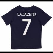 Tee shirt de Foot FRANCE Officiel LACAZETTE enfant bleu