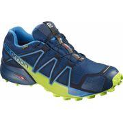 Salomon - Speedcross 4 GoreTex Hommes chaussure de course (bleu/vert)