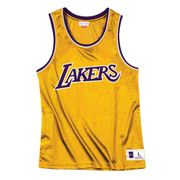 T-shirt Mitchell & Ness Nba Mesh Top Lakers