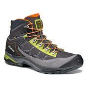 Chaussures Asolo Falcon GV GTX gris vert orange